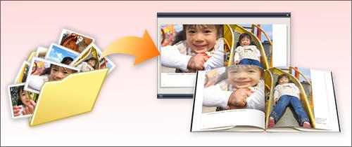 フォトブック用のデジブックを作る