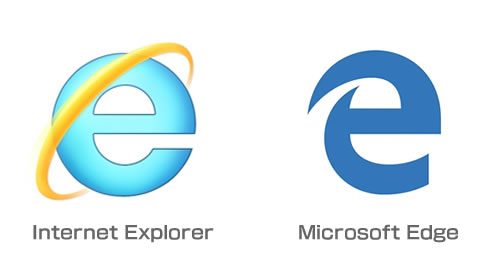 Internet ExplorerとMicrosoft Edge